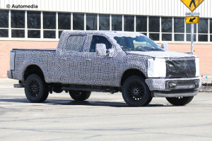 New Ford F-250 will have aluminium body