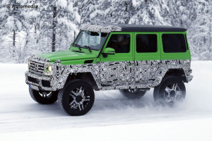 G500 4x4 goes on show at Geneva this week