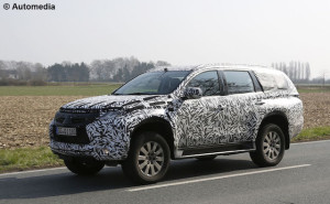 Mitsubishi Pajero gets new lightweight platform