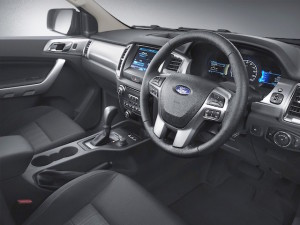 Interior of Ford Ranger gets   an update too