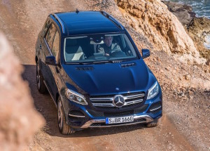 GLE is part of the new E-Class family