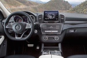 Standard gearbox in the GLE is a nine-speed automatic