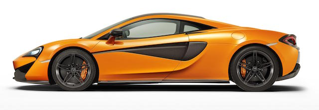 The 570S is expected to go on sale in NZ towards the end of the year