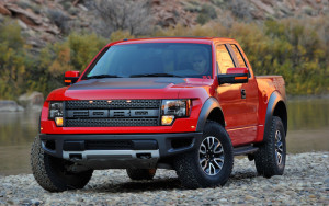 The Ford SVT Raptor: special edition with V8 engine