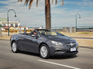 Cascada sot-top can be raised or lowered in 17 seconds, says Holden