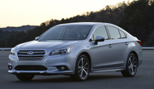 New Legacy sedan is the biggest of the six generations