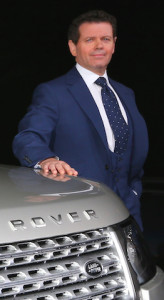 Land Rover design director Gerry McGovern