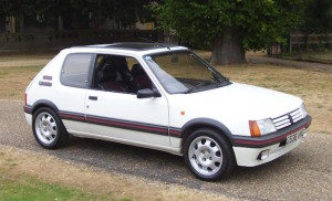 205 GTi first appeared in 1984