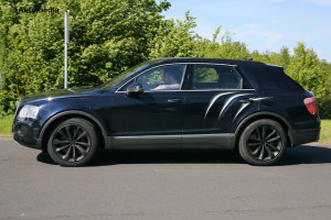 Bentayga shares its platform with the Audi Q7 and Porsche Cayenne