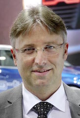 Reiner Mangold, Audi's sustainable product chief