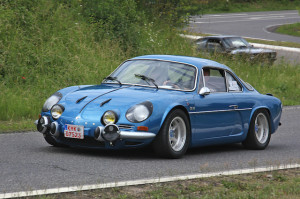 The Renault Alpine A110 finished 1-2-3 in the 1971 Monte Carlo Rally