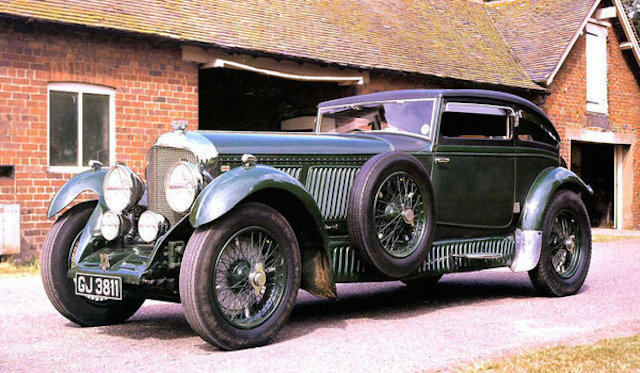 7. Bentley Speed Six