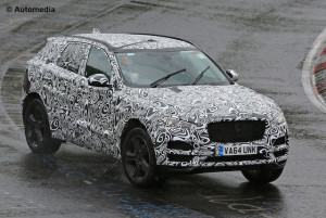 The F-Pace will go public next month