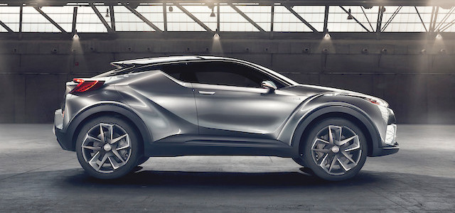 IMAGE - Toyota C-HR Concept side profile