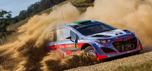 2015 World Rally Championship / Round 10 /  Rally Australia // 10th - 13th September, 2015 // Worldwide Copyright: Hyundai Motorsport