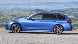 The four-cylinder 320d Touring wagon