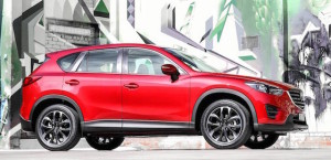 Mazda CX-5, the fourth most popular passenger car in NZ