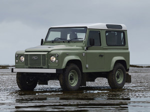 Grasmere green Defender, one of nine for NZ