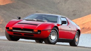 Maserati Bora of the 1970s