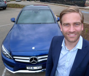 Mercedes-Benz NZ general manager Ben Giffin