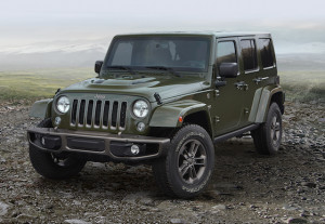 The 'Sarge Green' anniversary Wrangler Unlimited
