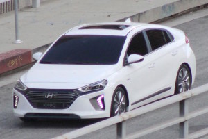 Hyundai said its Ioniq would have 'class-leading aerodynamics.'