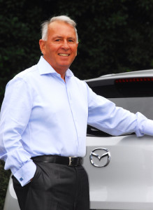 Andrew Clearwater, Mazda NZ managing director