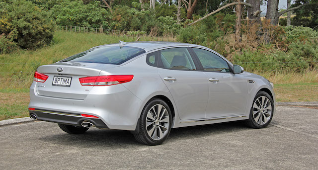 New Optima is slightly bigger all-round than the outgoing car