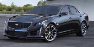 Cadillc CTS, designed to compete against the BMW 3-Series