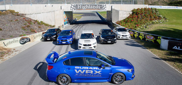 Subaru WRX at Highlands 1