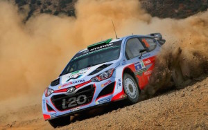 Paddon and Kennard on the move in Argentina
