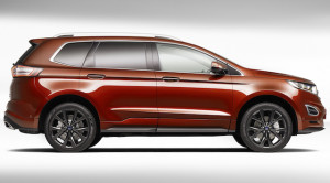 Seven-seat Edge from Ford's Chinese operation