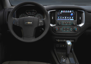 New dashboard with eight-inch touchscreen