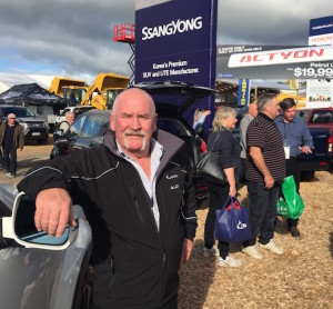 Rick Cooper, Ssangyong distributor in NZ