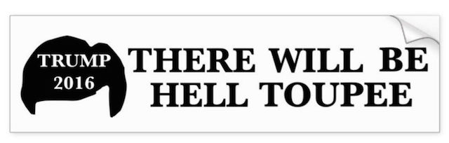 Special bumper sticker for American tourists to Auckland