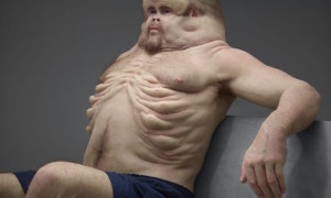 'Graham' has an extra thick ribcage that with built-in airbags that reach his chin.