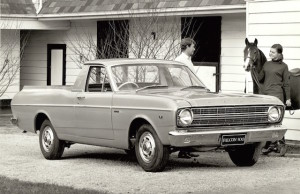 The XR Falcon ute from the 1960s