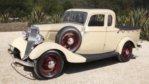 Replica of the pioneering 1934 Ford utility