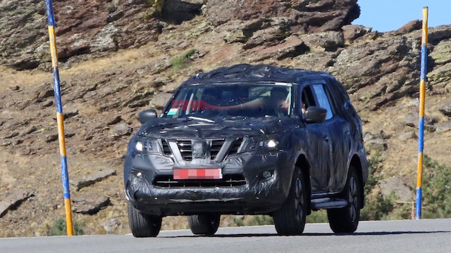Automotive News NZ - Nissan Navara-based SUV takes shape – but will ...