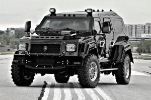 Knight XV – XV stands for 'extreme vehicle'
