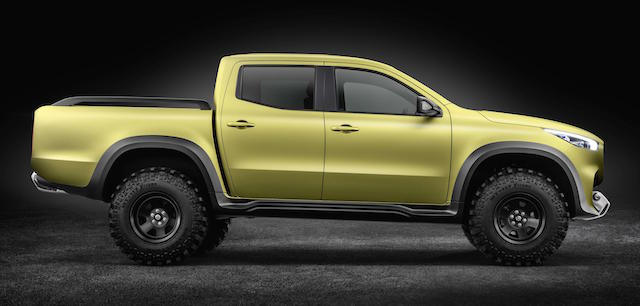 Profile of the X-Class reveals its Nissan Navara origins