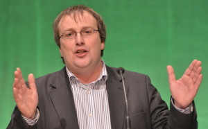Germany's Green Party lawmaker Oliver Krischer