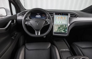 iPad-type tablet is standard fare in Tesla cars