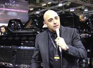 William Maizlin, founder of Conquest Vehicles
