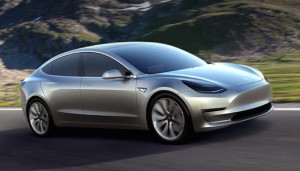 Tesla Model 3 is expected to go into production in 2017