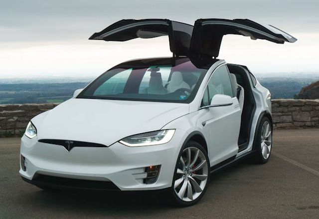 Tesla Model X, all-wheel-drive SUV