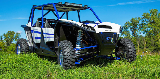 Nikola Zero, electric all-terrain utility vehicle