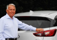 Mazda NZ mangaging director Andrew Clearwater retired last Friday