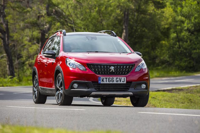 The Peugeot 2008 SUV