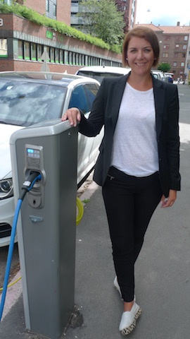 Christina Bu, secretary-general of the Norwegian Electric Vehicle Association